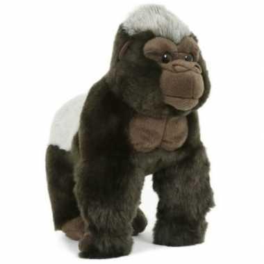 Pluche gorilla aap/apen knuffel 28 cm speelgoed