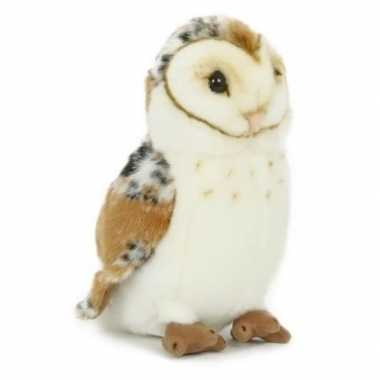 Pluche kerkuil/uilen knuffel 20 cm speelgoed