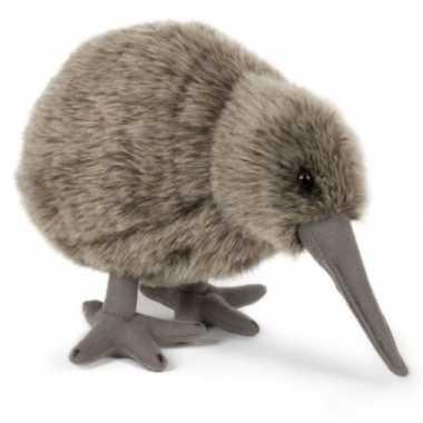 Pluche kiwi vogel knuffel 20 cm speelgoed