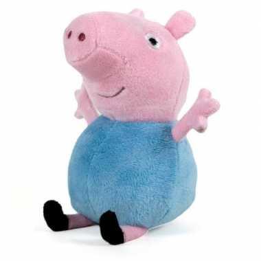 Pluche peppa pig big george knuffel 28 cm speelgoed