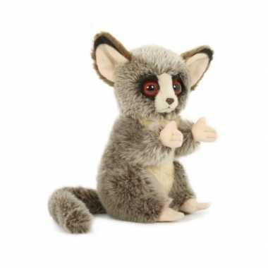 Pluche spookdiertje/tarsier knuffel 18 cm speelgoed