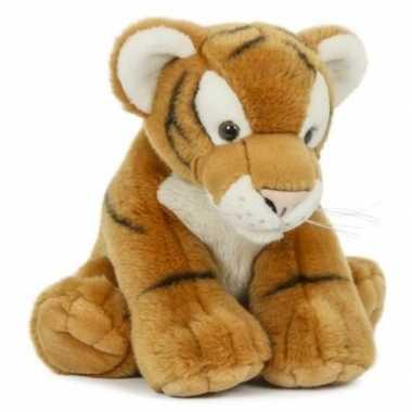Pluche tijger knuffel 30 cm speelgoed