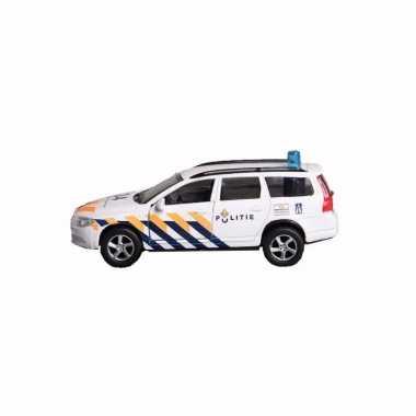 Politie volvo v70 speelgoed auto 14 cm