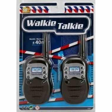 Politie walky talkie speelgoed voor kinderen