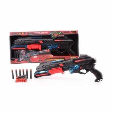 Rood speelgoed pistool 50 cm