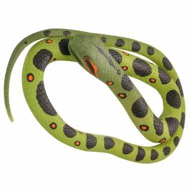 Rubberen speelgoed anaconda mega slang 183 cm