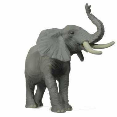 Safari olifant speelgoed dier 8 cm