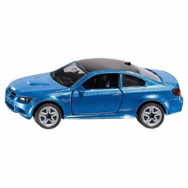 Siku bmw m3 speelgoed modelauto blauw 10 cm