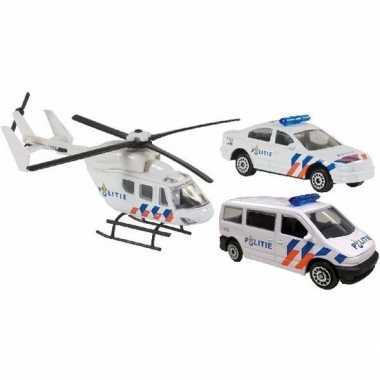 Speelgoed 112 politie set 3 delig