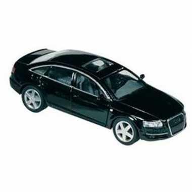 Speelgoed auto audi a6 zwart 1:38