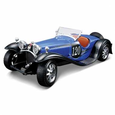 Speelgoed auto bugatti type 55 1:24