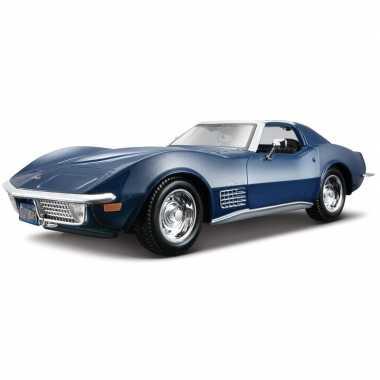 Speelgoed auto chevrolet corvette 1:24