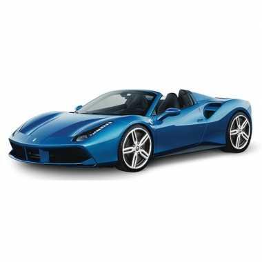 Speelgoed auto ferrari 488 spider 1:43