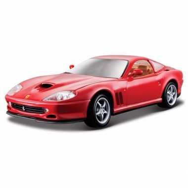 Speelgoed auto ferrari 550 maranello 1:24
