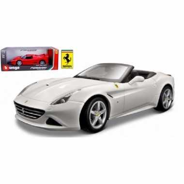 Speelgoed auto ferrari california t cabrio 1:18