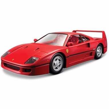 Speelgoed auto ferrari f40 1 24