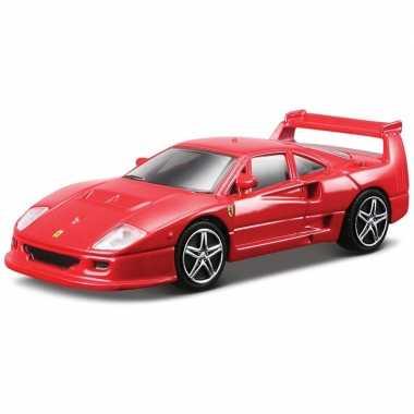 Speelgoed auto ferrari f40 competizione 1:43