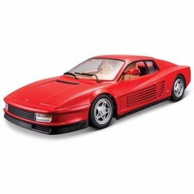 Speelgoed auto ferrari testa rossa 1 24