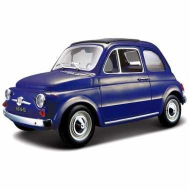 Speelgoed auto fiat 500 1965 1:24