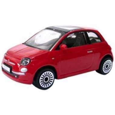 Speelgoed auto fiat 500 2008 1:43