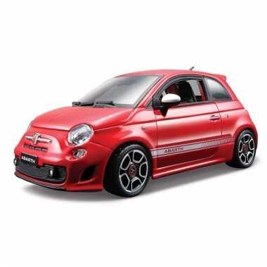 Speelgoed auto fiat 500 abarth 1:24