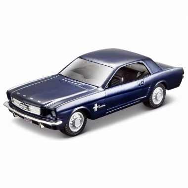 Speelgoed auto ford mustang 1965 1:32