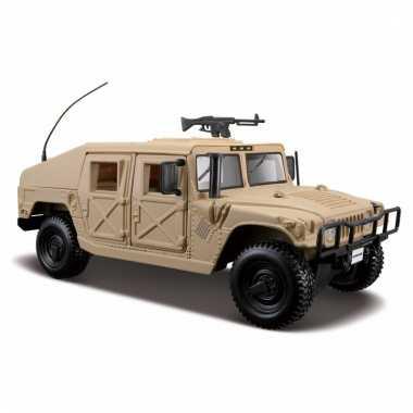 Speelgoed auto hummer humvee 1:24