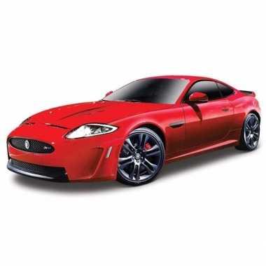 Speelgoed auto jaguar xkr-s rood 1:24