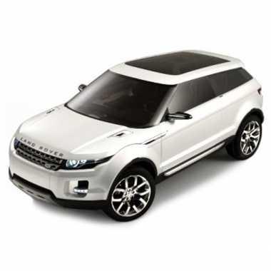Speelgoed auto land rover lrx wit 1 43