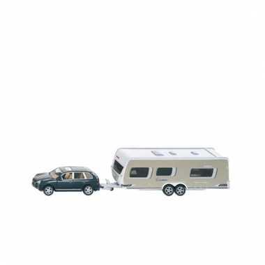 Speelgoed auto met caravan