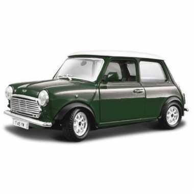 Speelgoed auto mini cooper 1969 1 24
