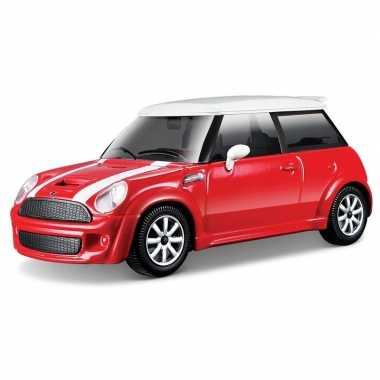 Speelgoed auto mini cooper s 1 43