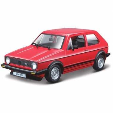 Speelgoed auto volkswagen golf mk1 1979 1:24