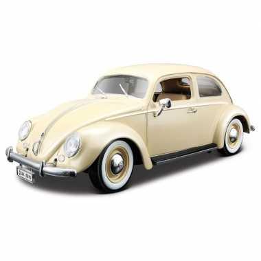 Speelgoed auto volkswagen kever 1955 1:18