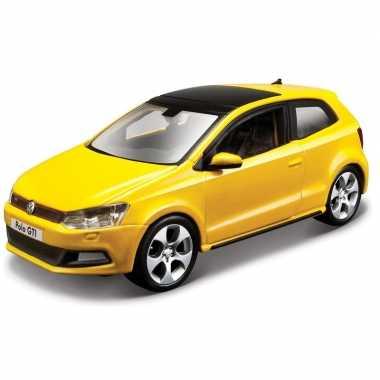 Speelgoed auto volkswagen polo 5 gti 1 32
