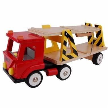 Speelgoed autotransport vrachtwagen