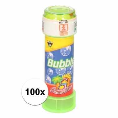 Speelgoed bellenblaas 100 stuks