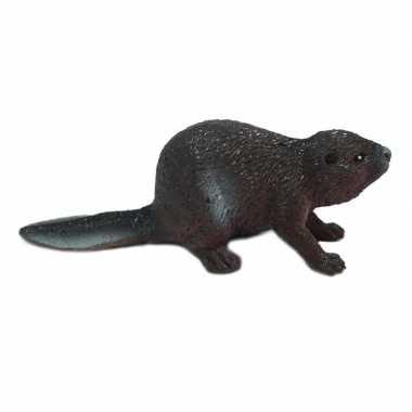 Speelgoed bever dier 5 cm