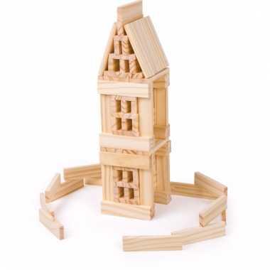 Speelgoed blokken van hout voor kinderen