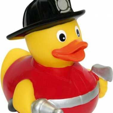 Speelgoed brandweer eend