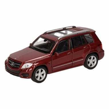 Speelgoed bruine mercedes-benz glk auto 12 cm