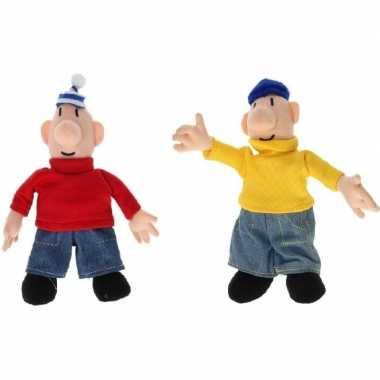 Speelgoed buurman en buurman poppen 18 cm