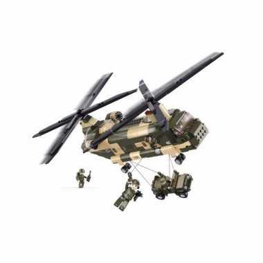 Speelgoed chinook helikopters