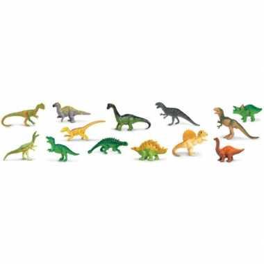 Speelgoed dinosauriers van plastic