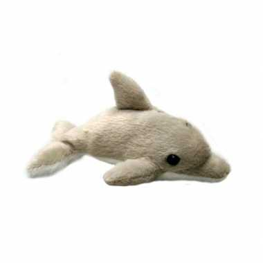 Speelgoed dolfijn knuffel 10 cm