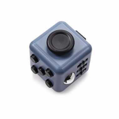 Speelgoed fidget cube grijs
