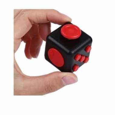 Speelgoed fidget cube zwart 10094616