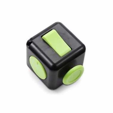Speelgoed fidget cube zwart