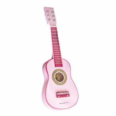 Speelgoed gitaar roze 10055923