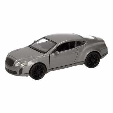 Speelgoed grijze bentley continental supersports auto 12 cm